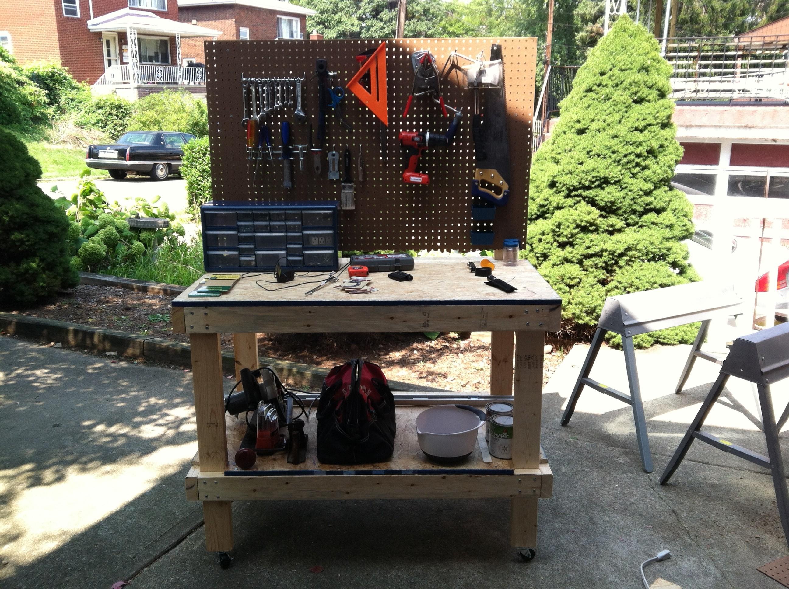 A New Workbench J F Gabello Woodworking